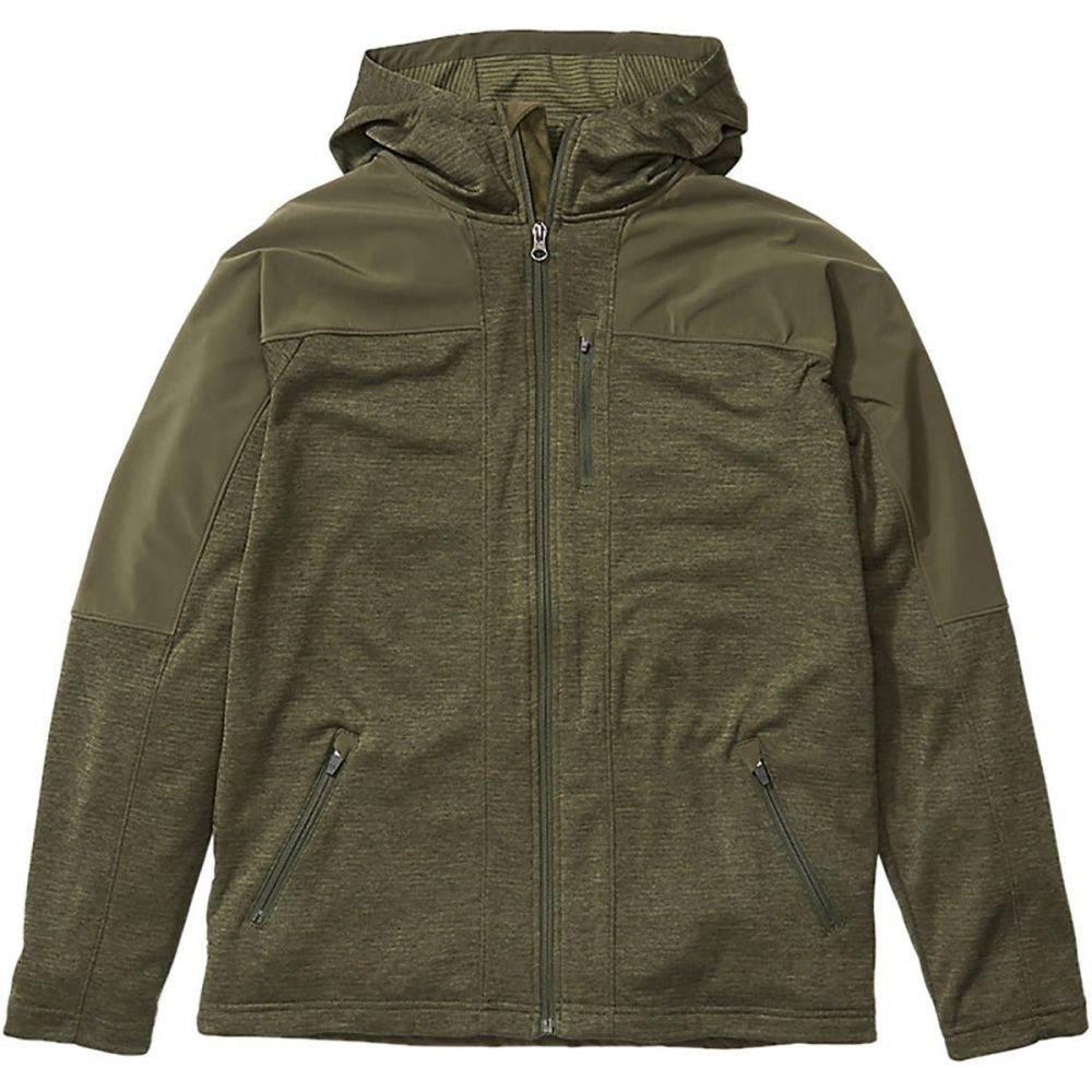 マーモット Marmot メンズ フリース フード トップス【Stonewall Fleece Hooded Jacket】Nori