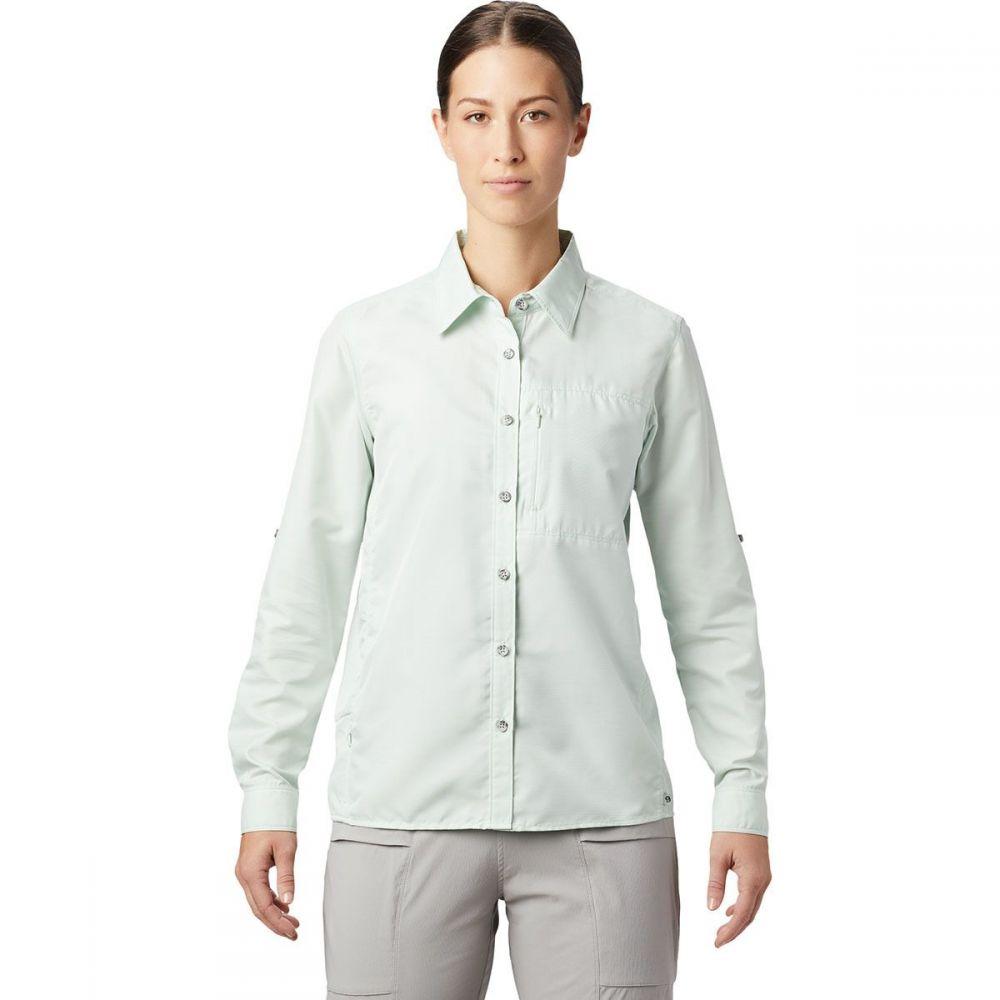 マウンテンハードウェア Mountain Hardwear レディース 長袖Tシャツ トップス【Canyon Long - Sleeve Shirt】Glacial Mint