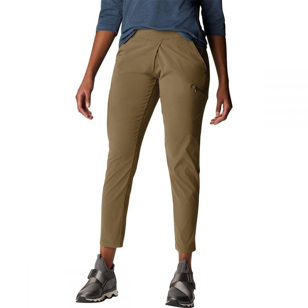 マウンテンハードウェア Mountain Hardwear レディース クロップド ボトムス・パンツ【Dynama Ankle Pant】Raw Clay