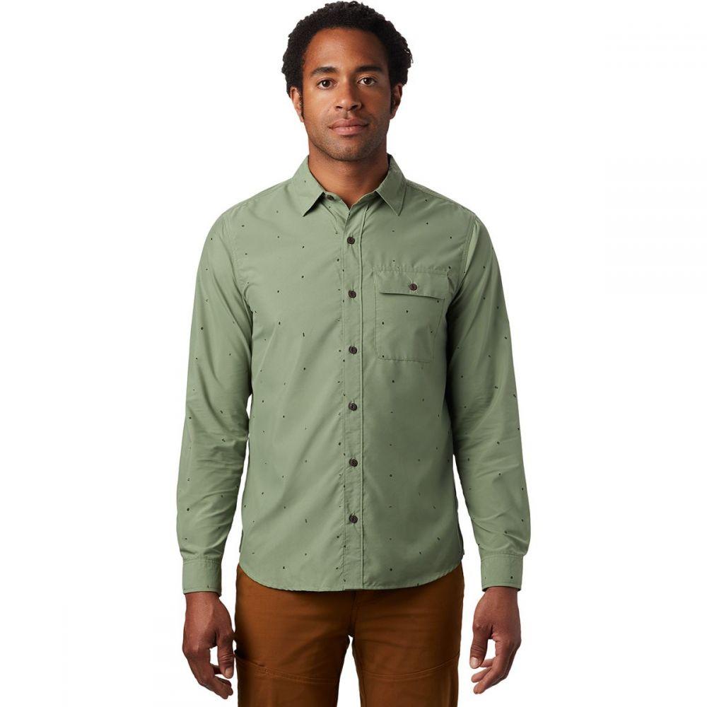 マウンテンハードウェア Mountain Hardwear メンズ シャツ トップス【Greenstone Long - Sleeve Shirt】Field Scatter Dot Print