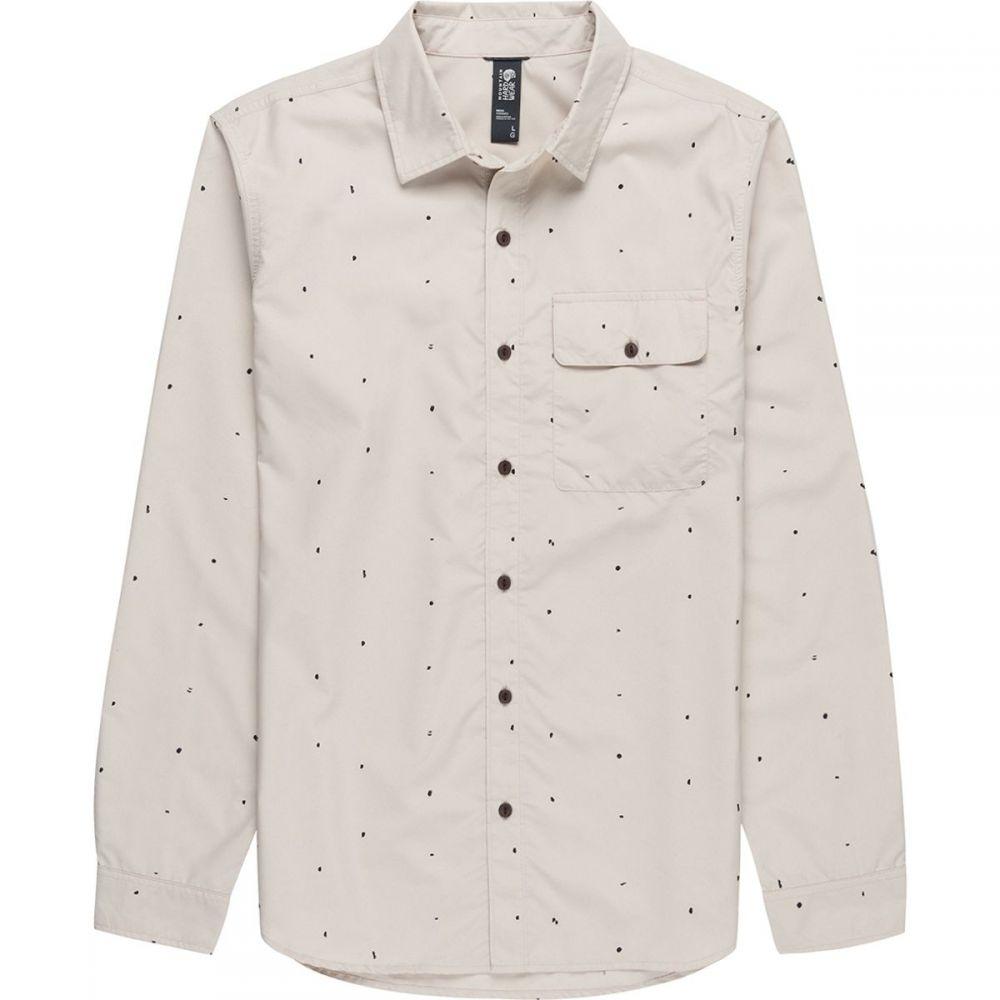 マウンテンハードウェア Mountain Hardwear メンズ シャツ トップス【Greenstone Long - Sleeve Shirt】Lightlands Dot Scatter Print