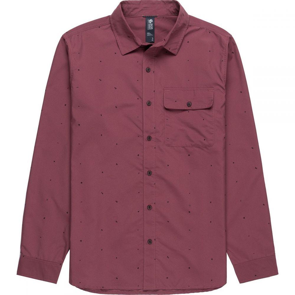 マウンテンハードウェア Mountain Hardwear メンズ シャツ トップス【Greenstone Long - Sleeve Shirt】Washed Rock Scatter Dot Print