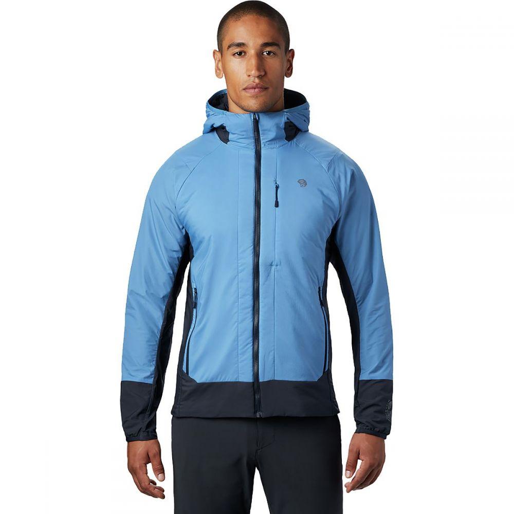 マウンテンハードウェア Mountain Hardwear メンズ ジャケット アウター【Kor Cirrus Hybrid Hoodie】Deep Lake