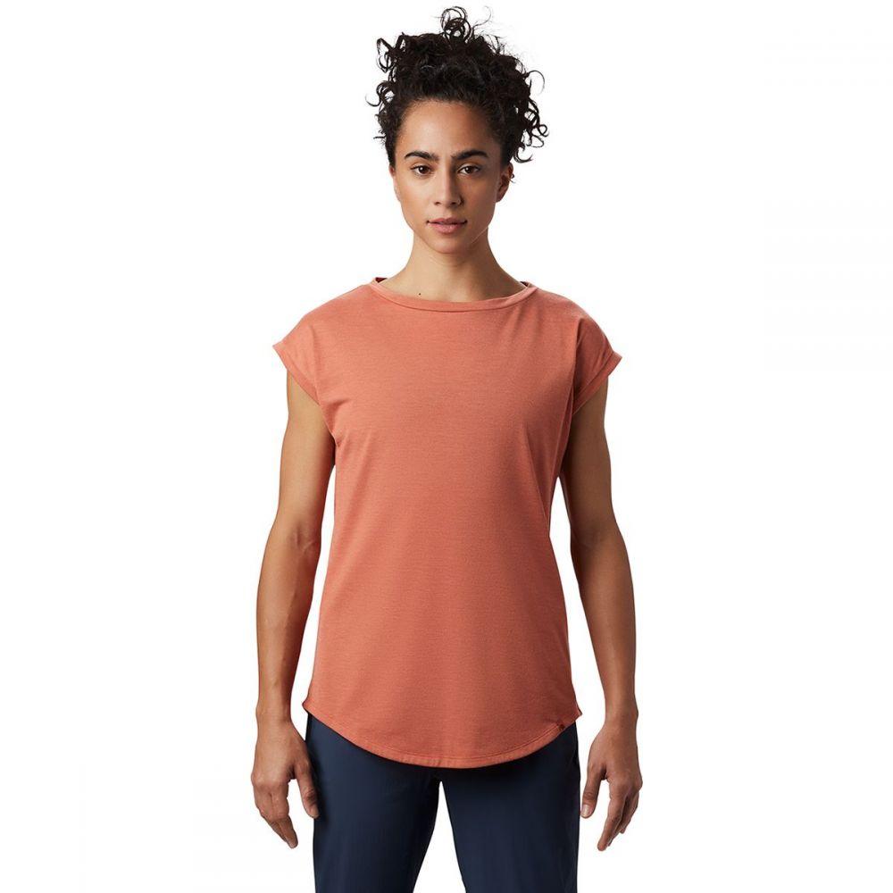 マウンテンハードウェア Mountain Hardwear レディース Tシャツ トップス【Everyday Perfect Short - Sleeve T - Shirt】Dark Clay