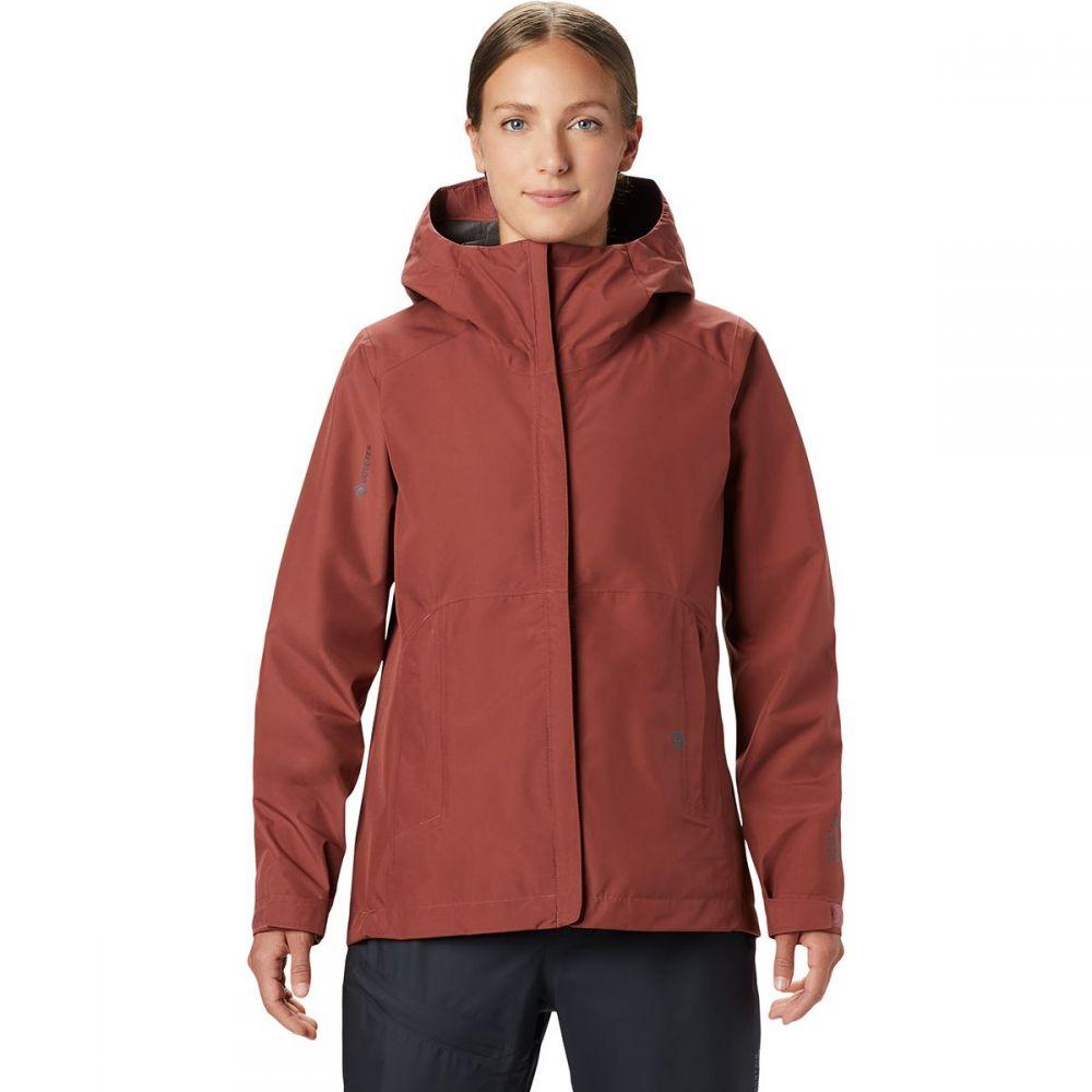 マウンテンハードウェア Mountain Hardwear レディース ジャケット アウター【Exposure/2 Gore - Tex Paclite Jacket】Washed Rock