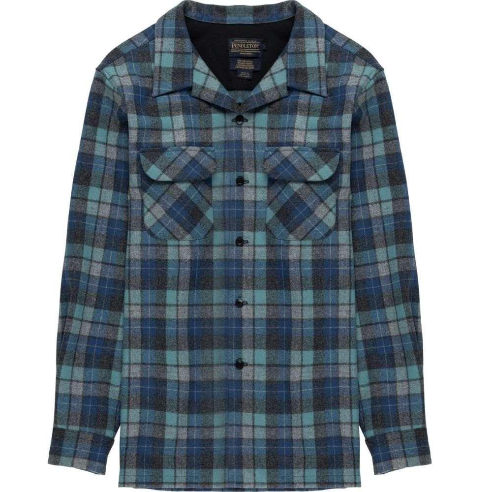 ペンドルトン Pendleton メンズ シャツ トップス【Fitted Board Shirt】Blue Original Surf Plaid