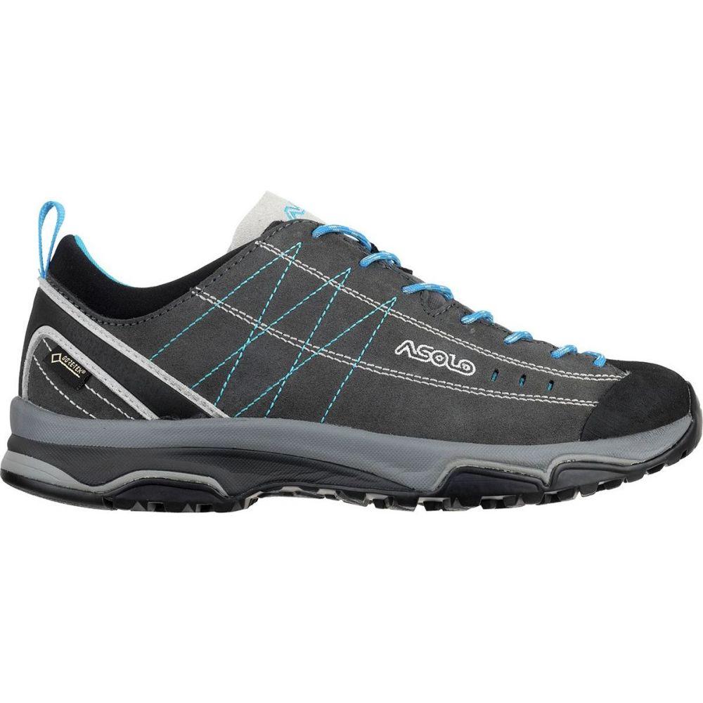 アゾロ Asolo レディース ハイキング・登山 シューズ・靴【Nucleon GV Hiking Shoe】Graphite/Silver/Cyan Blue