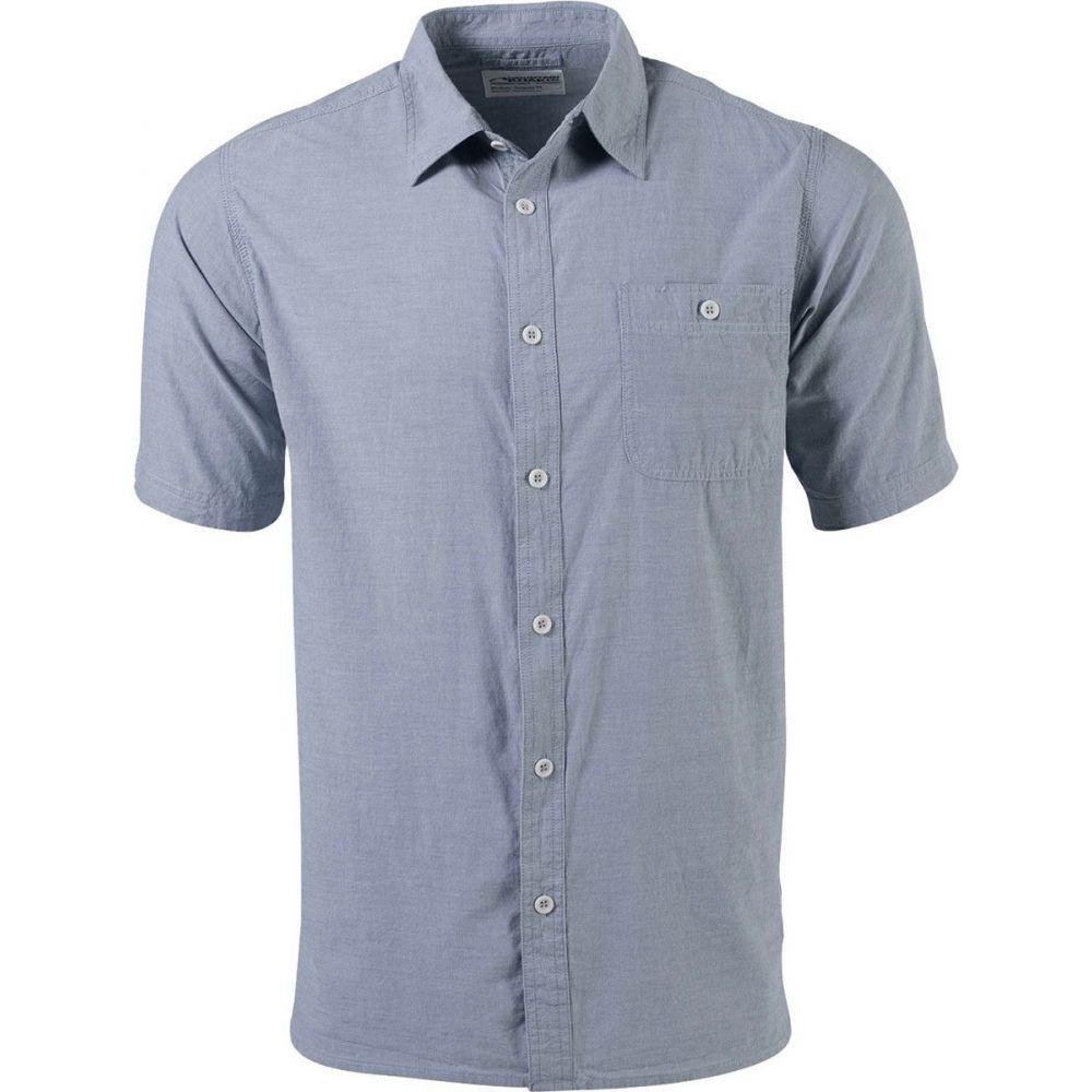 マウンテンカーキス Mountain Khakis メンズ 半袖シャツ シャンブレーシャツ トップス【Mountain Chambray Short - Sleeve Shirt】Dusk
