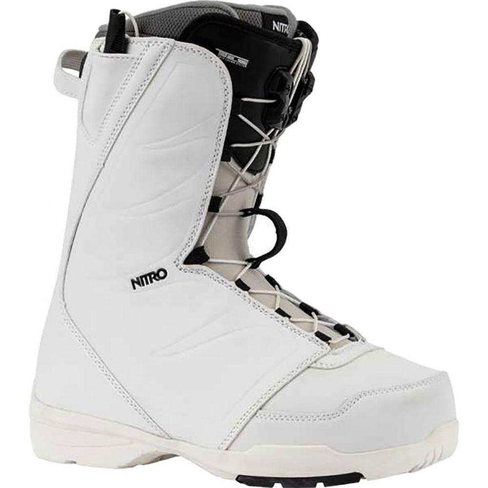 ニトロ Nitro レディース スキー・スノーボード ブーツ シューズ・靴【Flora TLS Snowboard Boot】White