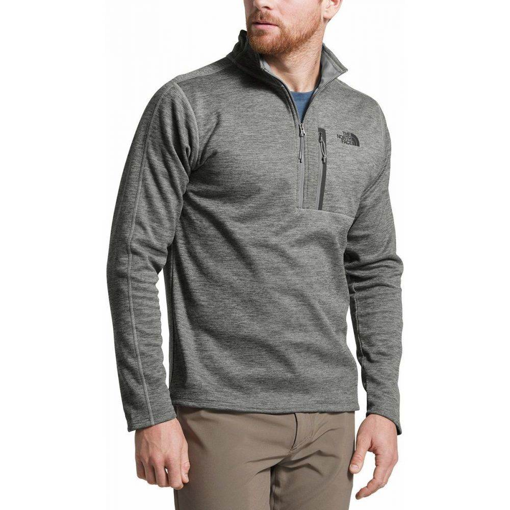 ザ ノースフェイス The North Face メンズ フリース ハーフジップ トップス【Canyonlands 1/2 - Zip Pullover Fleece Jacket】Tnf Medium Grey Heather