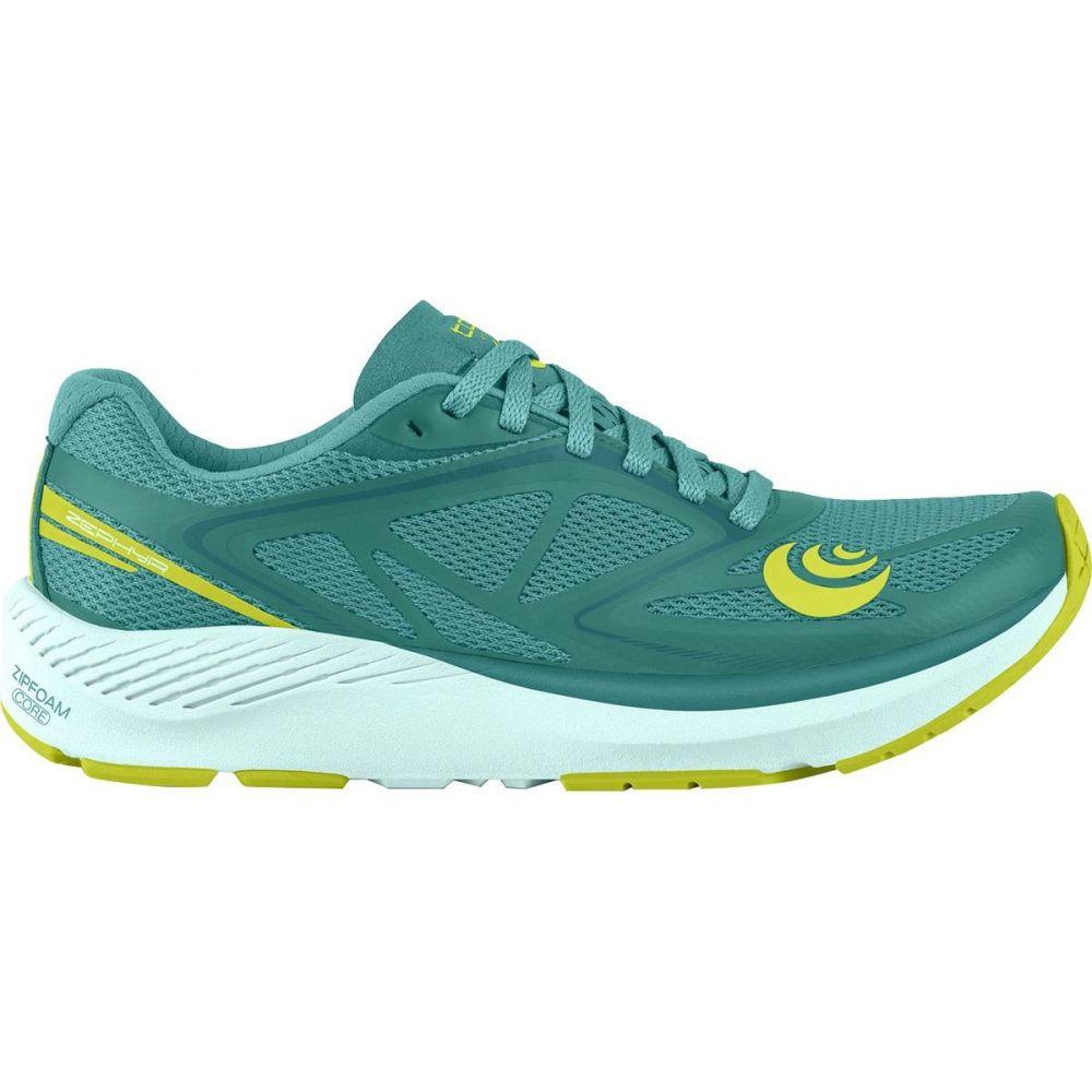 トポ アスレチック Topo Athletic レディース ランニング・ウォーキング シューズ・靴【Zephyr Running Shoe】Teal/Lime