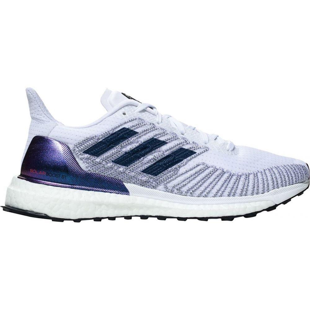 アディダス Adidas レディース ランニング・ウォーキング シューズ・靴【Solar Boost ST 19 Running Shoe】White/Silver Metallic/Solar Red