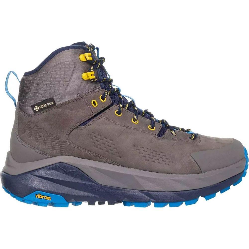 ホカ オネオネ HOKA ONE ONE メンズ ハイキング・登山 ブーツ シューズ・靴【Sky Kaha Hiking Boot】Charcoal Grey/Blue
