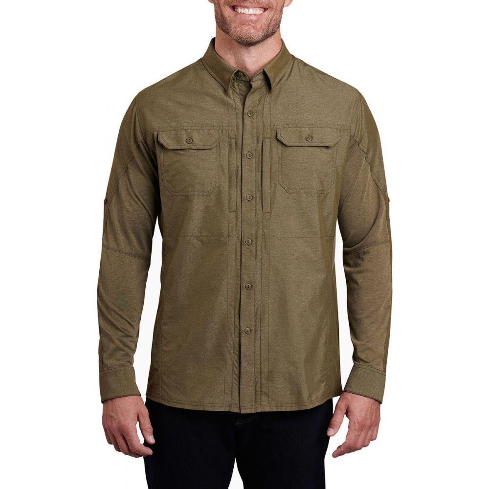 キュール KUHL メンズ シャツ トップス【Airspeed Long - Sleeve Shirt】Woodland Olive