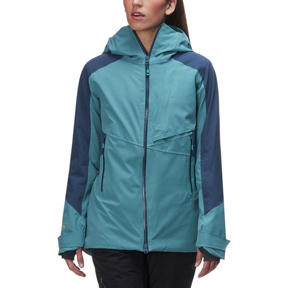 マウンテンハードウェア Mountain Hardwear レディース スキー・スノーボード ジャケット アウター【Polara Insulated Jacket】Lakeshore Blue