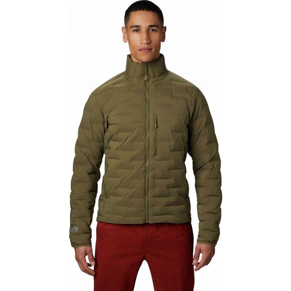 マウンテンハードウェア Mountain Hardwear メンズ ダウン・中綿ジャケット アウター【Super DS Stretchdown Jacket】Combat Green