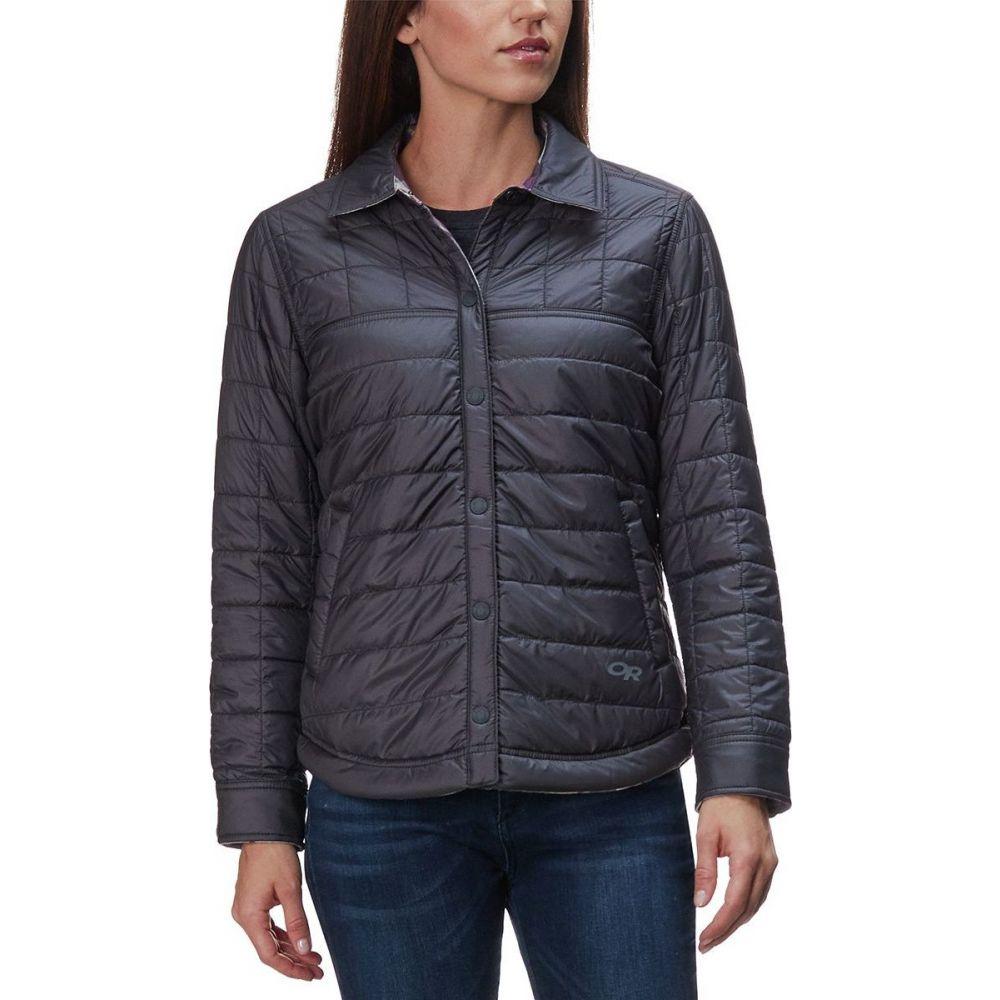 アウトドアリサーチ Outdoor Research レディース ジャケット シャツジャケット アウター【Kalaloch Reversible Shirt Jacket】Pacific Plum Plaid