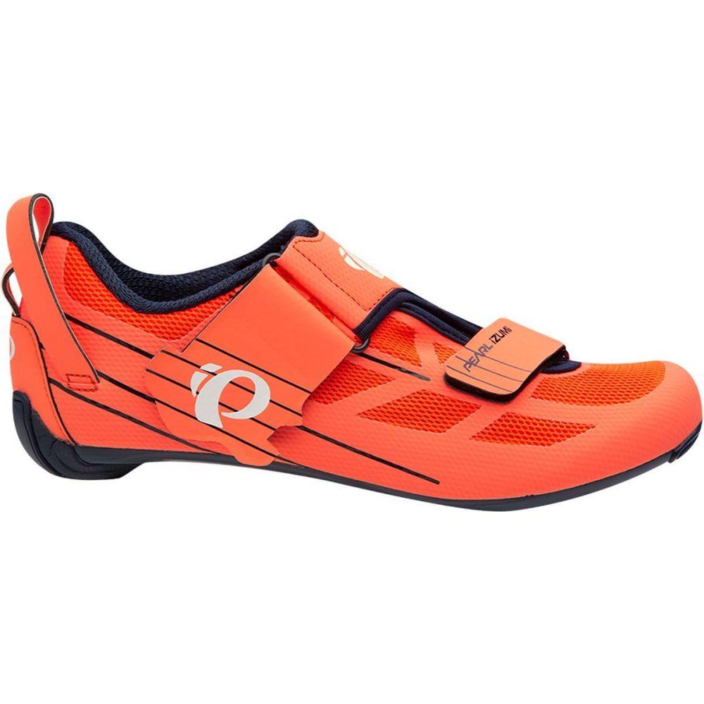 <title>パールイズミ レディース 自転車 シューズ 靴 Navy Fiery Coral サイズ交換無料 Pearl Izumi Tri Fly Seasonal Wrap入荷 Select V6 Cycling Shoe</title>