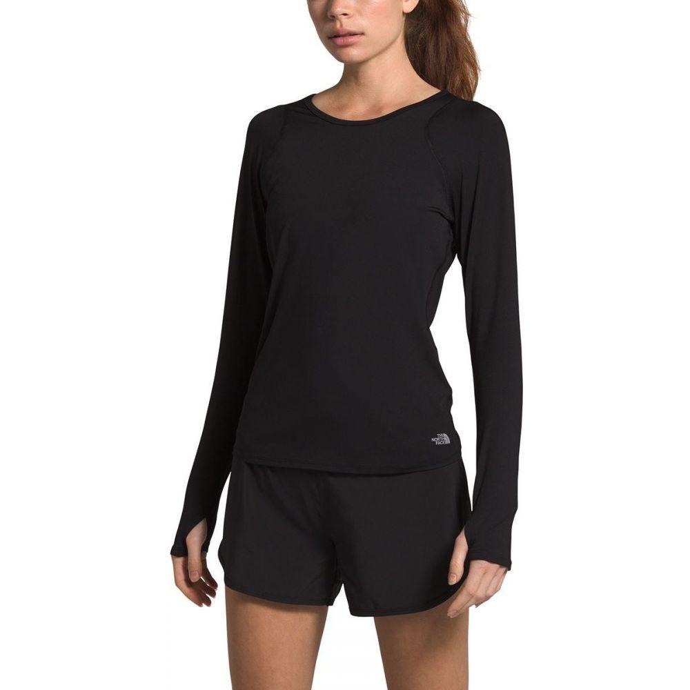 ザ ノースフェイス The North Face レディース 長袖Tシャツ トップス【Essential Long - Sleeve Top】Tnf Black