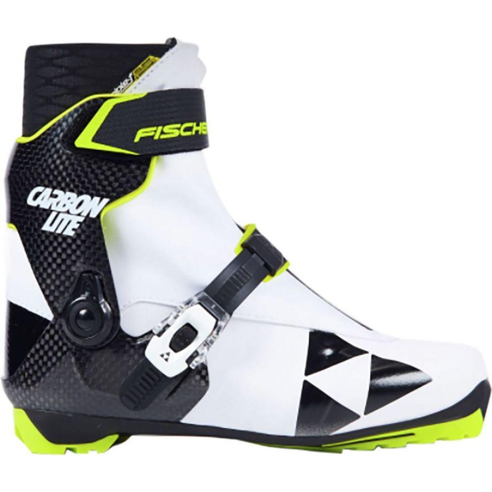 フィッシャー Fischer レディース スキー・スノーボード ブーツ シューズ・靴【RCS Carbonlite Skate Boot】White/Black