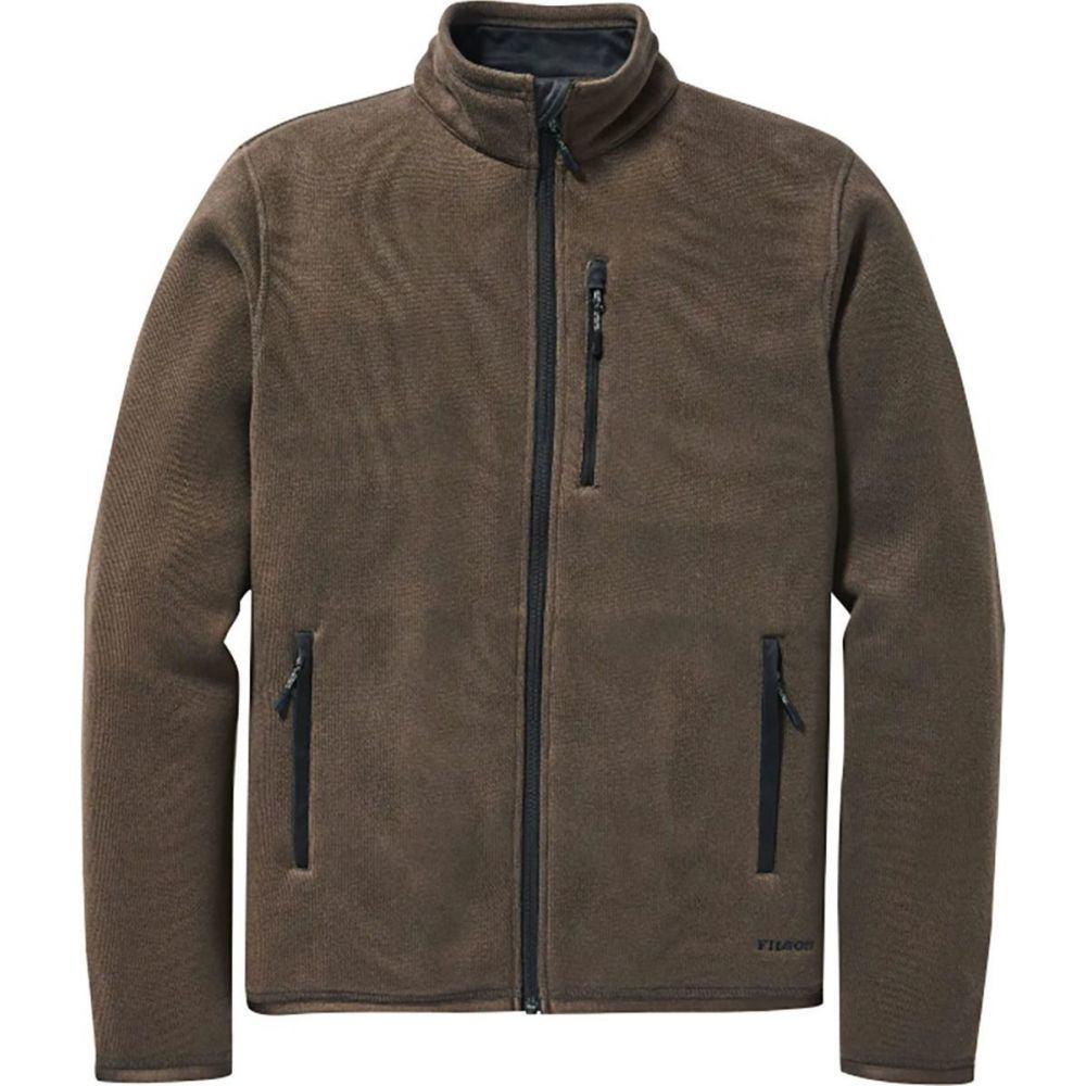 フィルソン Filson メンズ フリース トップス【Ridgeway Fleece Jacket】Dark Brown