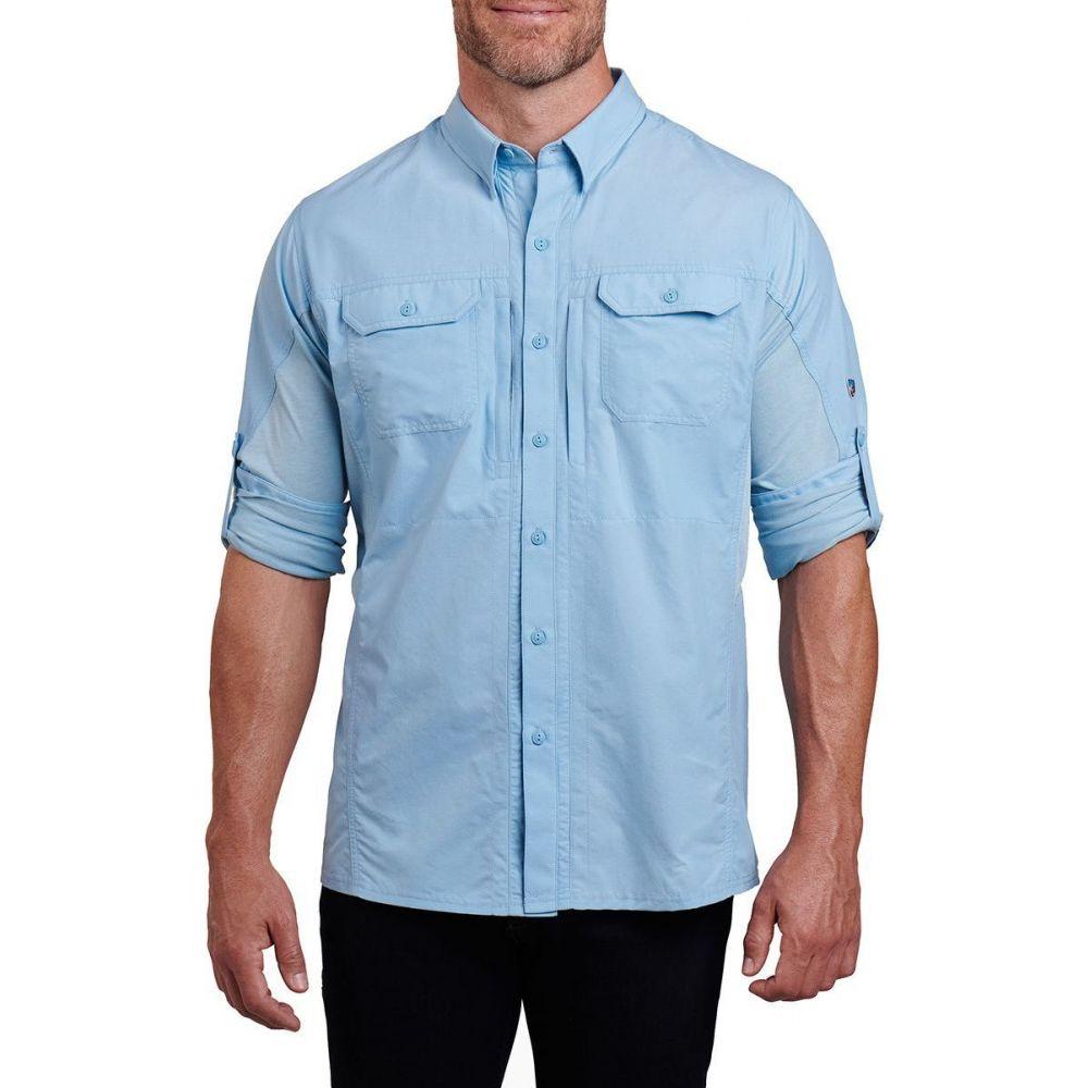 キュール KUHL メンズ シャツ トップス【Airspeed Long - Sleeve Shirt】Carolina Blue
