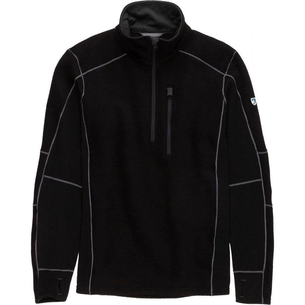 キュール KUHL メンズ フリース トップス【Interceptr 1/4 - Zip Fleece Jacket】Black
