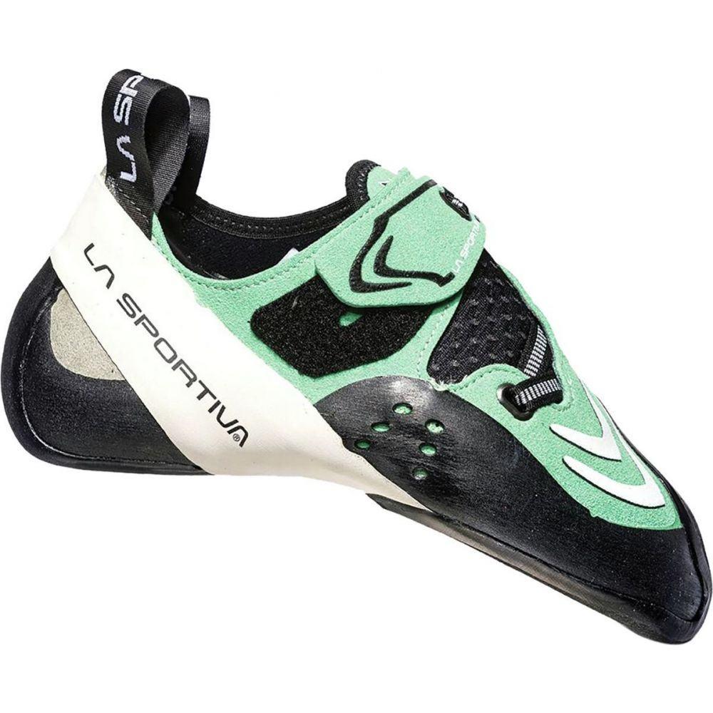 ラスポルティバ La Sportiva レディース クライミング シューズ・靴【Futura Climbing Shoe】Jade Green/White
