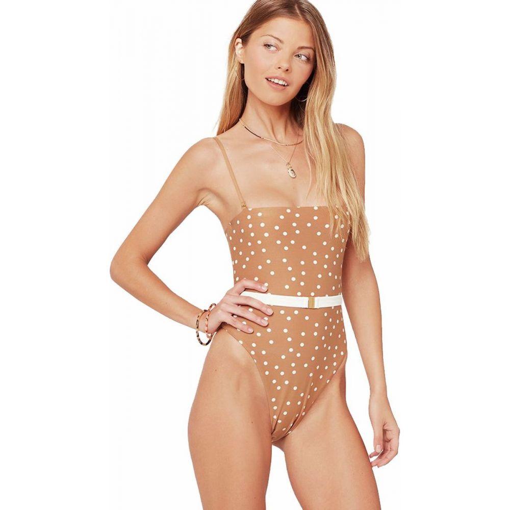 エルスペース L Space レディース ワンピース 水着・ビーチウェア【Lockhart Print Classic One - Piece Swim Suit】Beachcomber Dot
