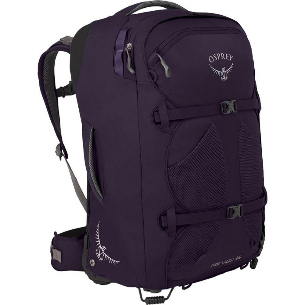 オスプレー Osprey Packs レディース バックパック・リュック バッグ【Fairview Wheeled 36L Travel Pack】Amulet Purple