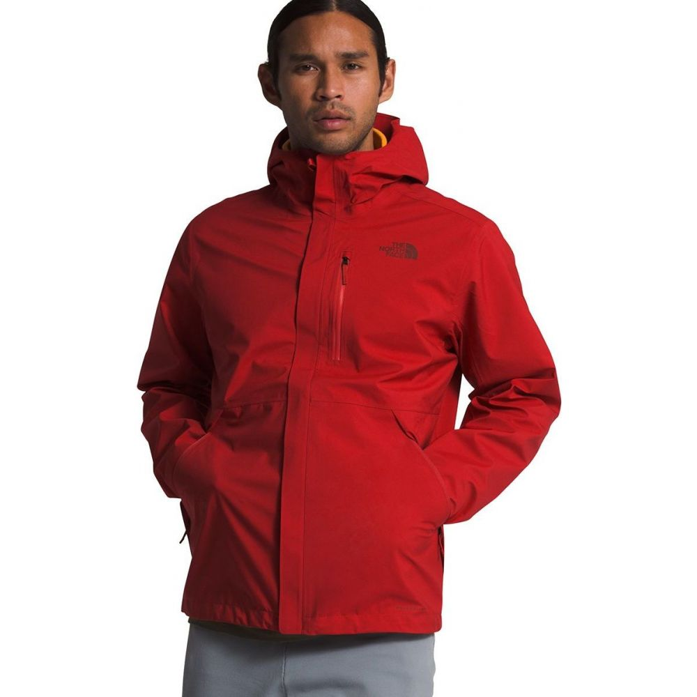 ザ ノースフェイス The North Face メンズ レインコート アウター【Dryzzle Futurelight Jacket】Pompeian Red