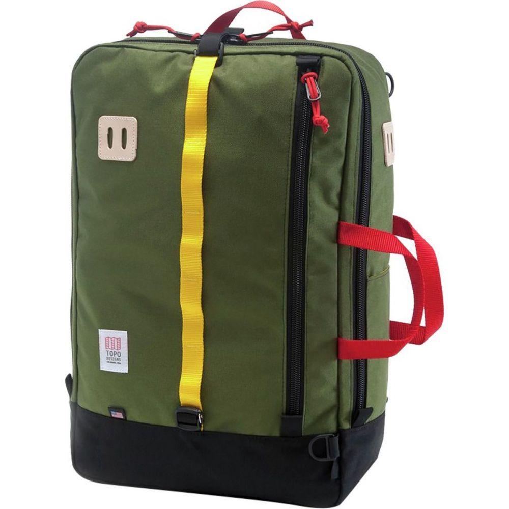 トポ デザイン Topo Designs レディース バックパック・リュック バッグ【Travel 40L Bag】Olive
