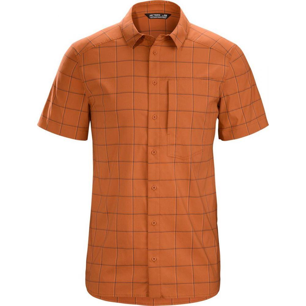 アークテリクス Arc'teryx メンズ 半袖シャツ トップス【Riel Short - Sleeve Button - Up Shirt】Akola