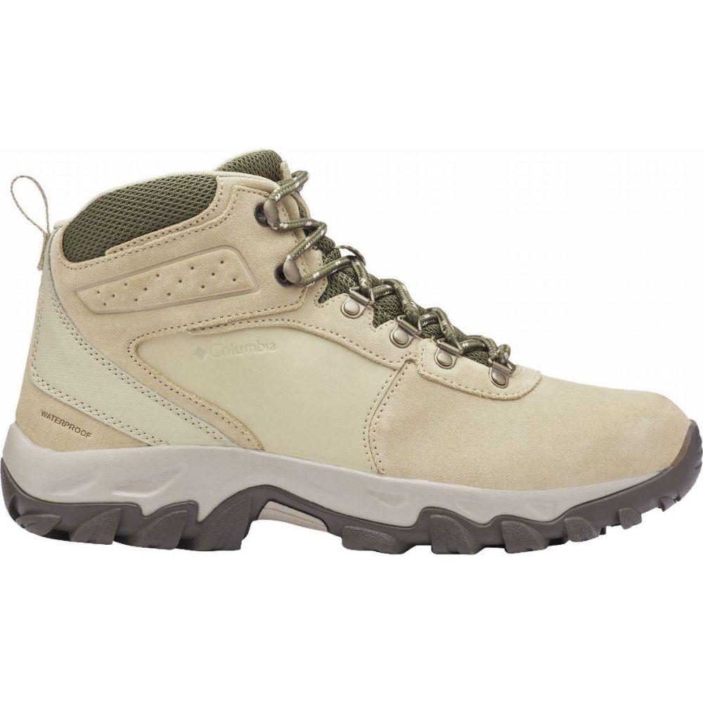 コロンビア Columbia メンズ ハイキング・登山 ブーツ シューズ・靴【Newton Ridge Plus II Suede WP Hiking Boot】Twill/Nori