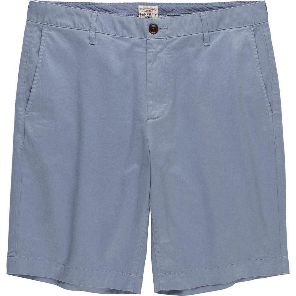 ファレティ Faherty メンズ ショートパンツ ボトムス・パンツ【Stretch Chino Short】Skip Blue
