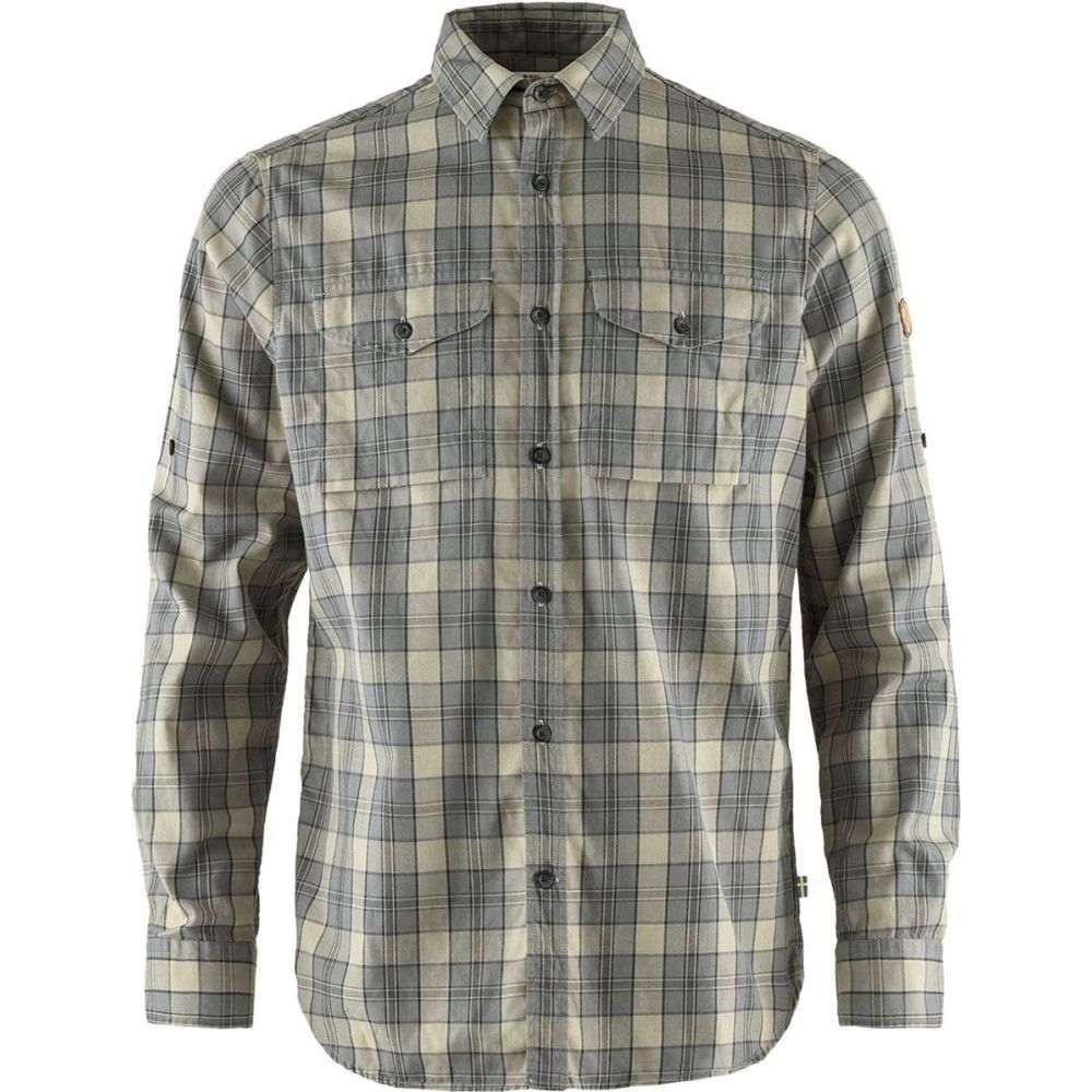 フェールラーベン Fjallraven メンズ シャツ フランネルシャツ トップス【Singi Flannel Shirt】Shark Grey