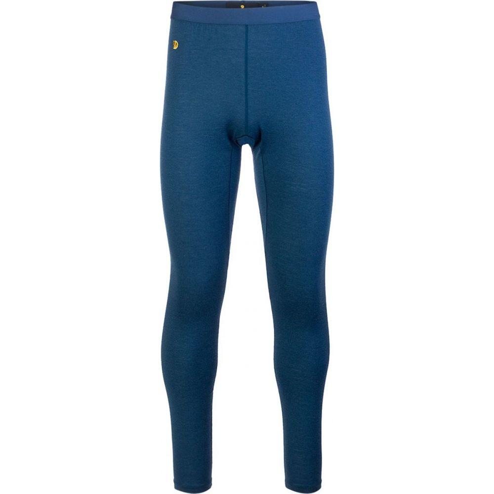 フェールラーベン Fjallraven メンズ ランニング・ウォーキング ボトムス・パンツ【Bergtagen Thinwool Long Johns】Mountain Blue