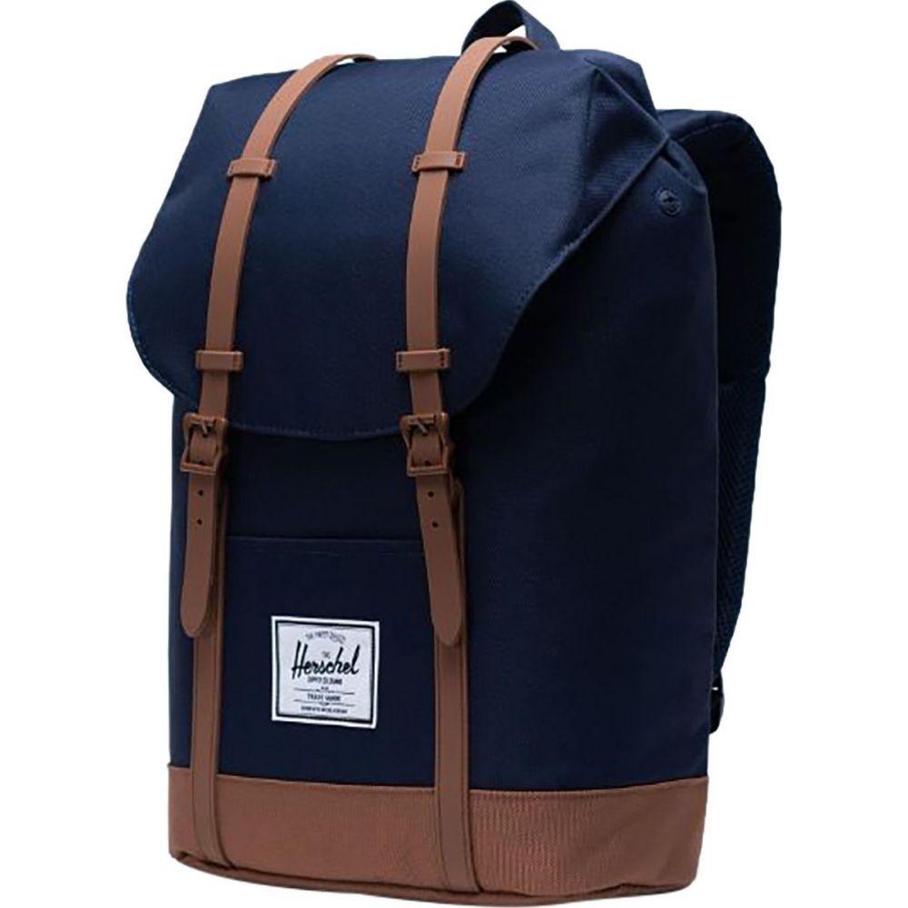 ハーシェル サプライ Herschel Supply レディース バックパック・リュック バッグ【Retreat 19.5L Backpack】Peacoat/Saddle Brown
