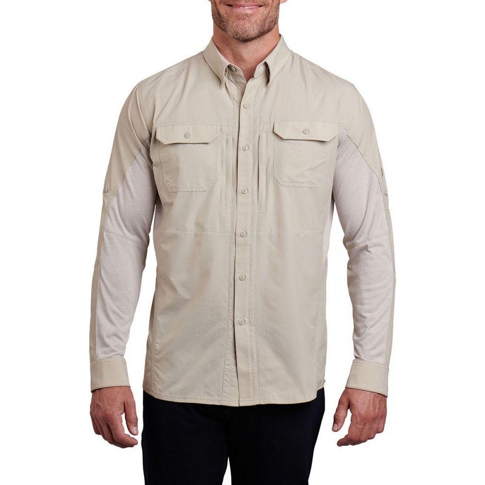 キュール KUHL メンズ シャツ トップス【Airspeed Long - Sleeve Shirt】Light Khaki
