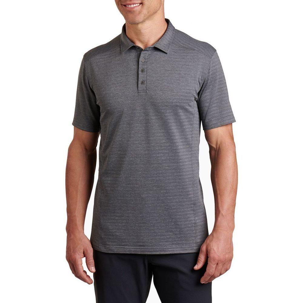 キュール KUHL メンズ ポロシャツ トップス【AirKuhl Polo Shirt】Carbon