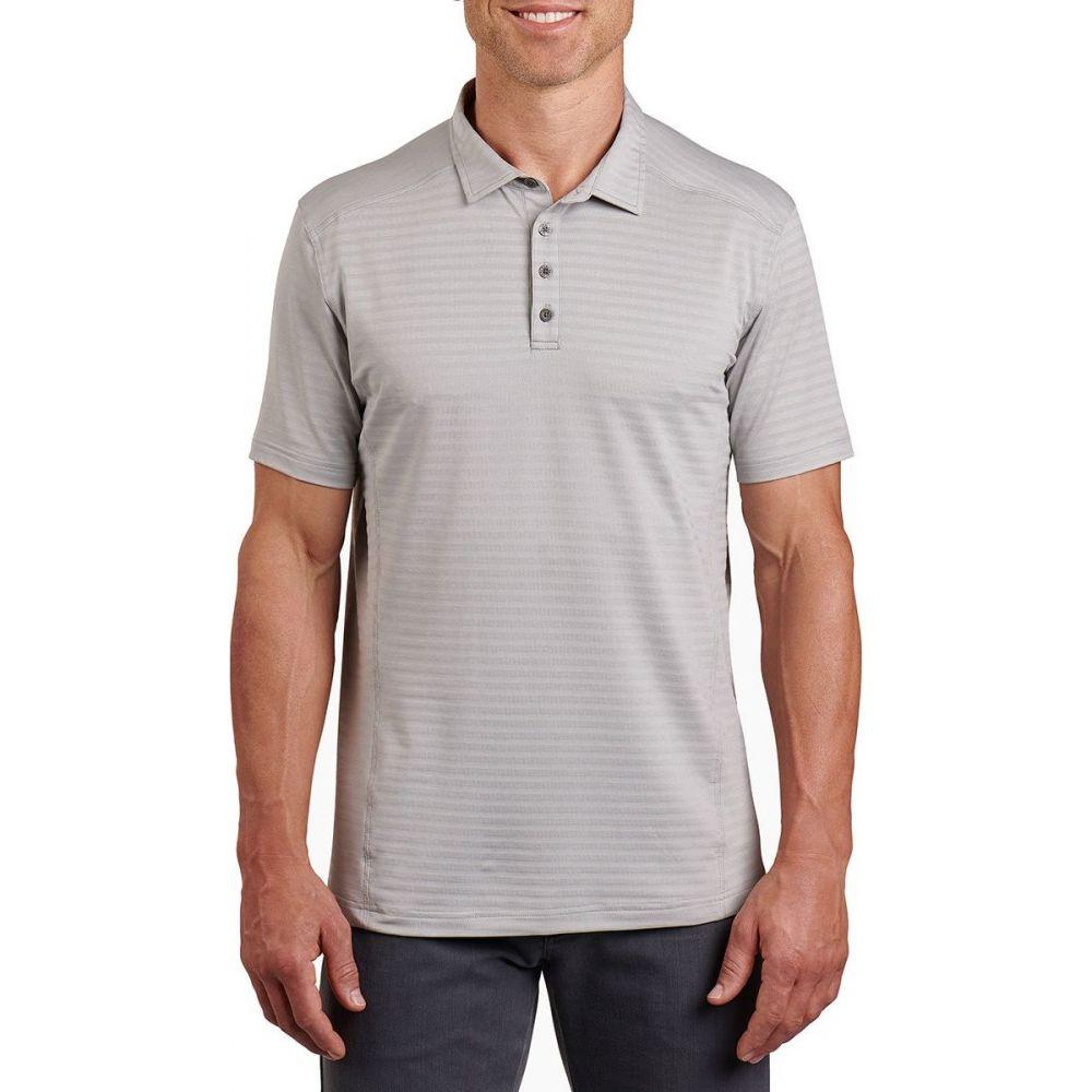 キュール KUHL メンズ ポロシャツ トップス【AirKuhl Polo Shirt】Cloud Gray