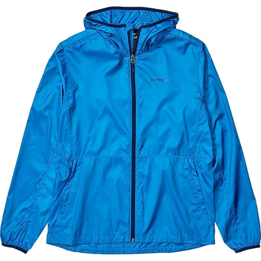 マーモット Marmot メンズ ジャケット ウィンドブレーカー アウター【Trail Wind Hood Jacket】Classic Blue