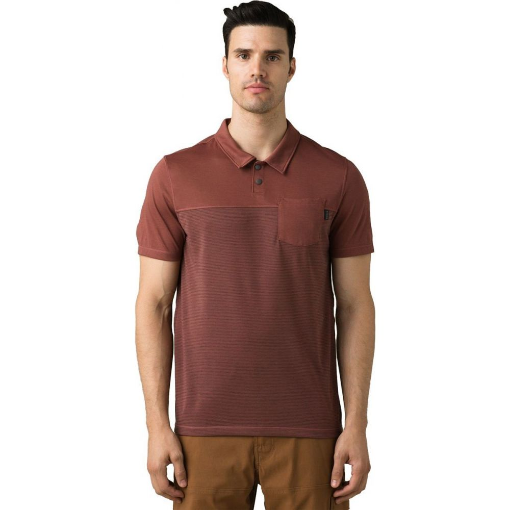 プラーナ Prana メンズ ポロシャツ トップス【Milo Polo Shirt】Vino