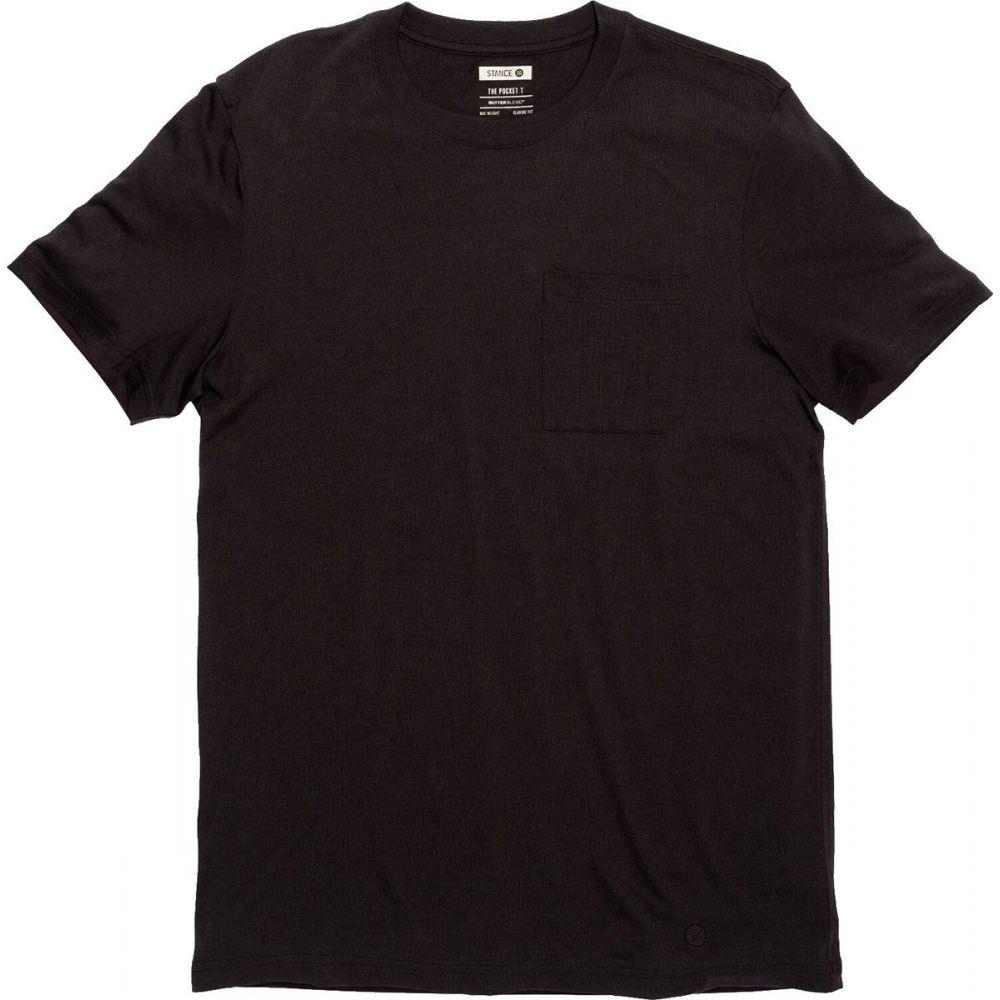 スタンス Stance メンズ Tシャツ トップス【Standard Pocket Short - Sleeve Butter Blend T - Shirt】Black