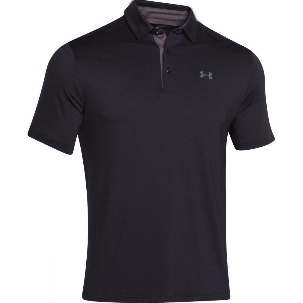 アンダーアーマー Under Armour メンズ ポロシャツ トップス【Playoff Polo Shirt】Black/Graphite/Graphite