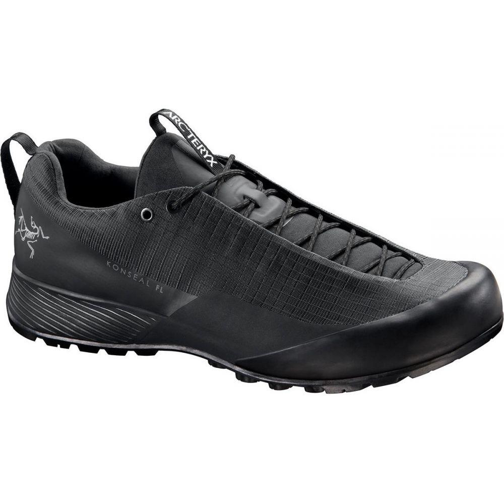 アークテリクス Arc'teryx メンズ ハイキング・登山 シューズ・靴【Konseal FL Approach Shoe】Black/Cinder