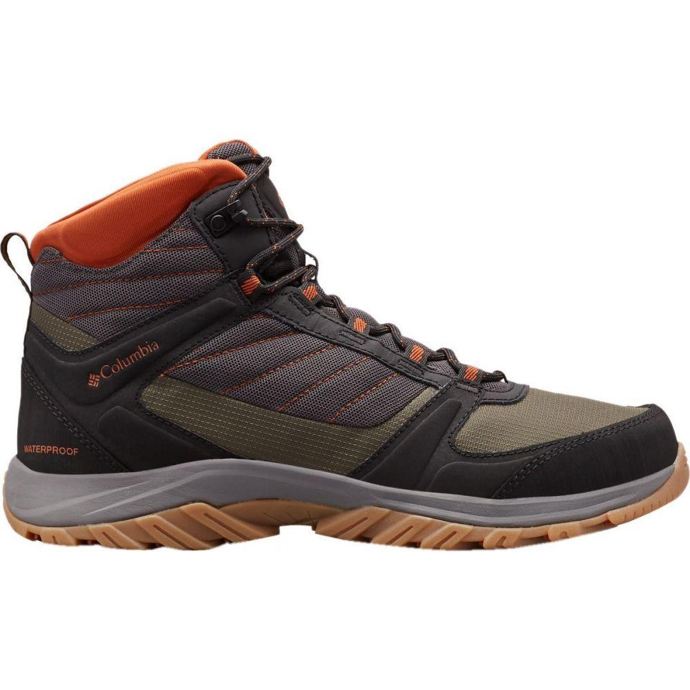 コロンビア Columbia メンズ ハイキング・登山 ブーツ シューズ・靴【Terrebonne II Sport Mid Omni - Tech Hiking Boot】Dark Grey/Dark Adobe