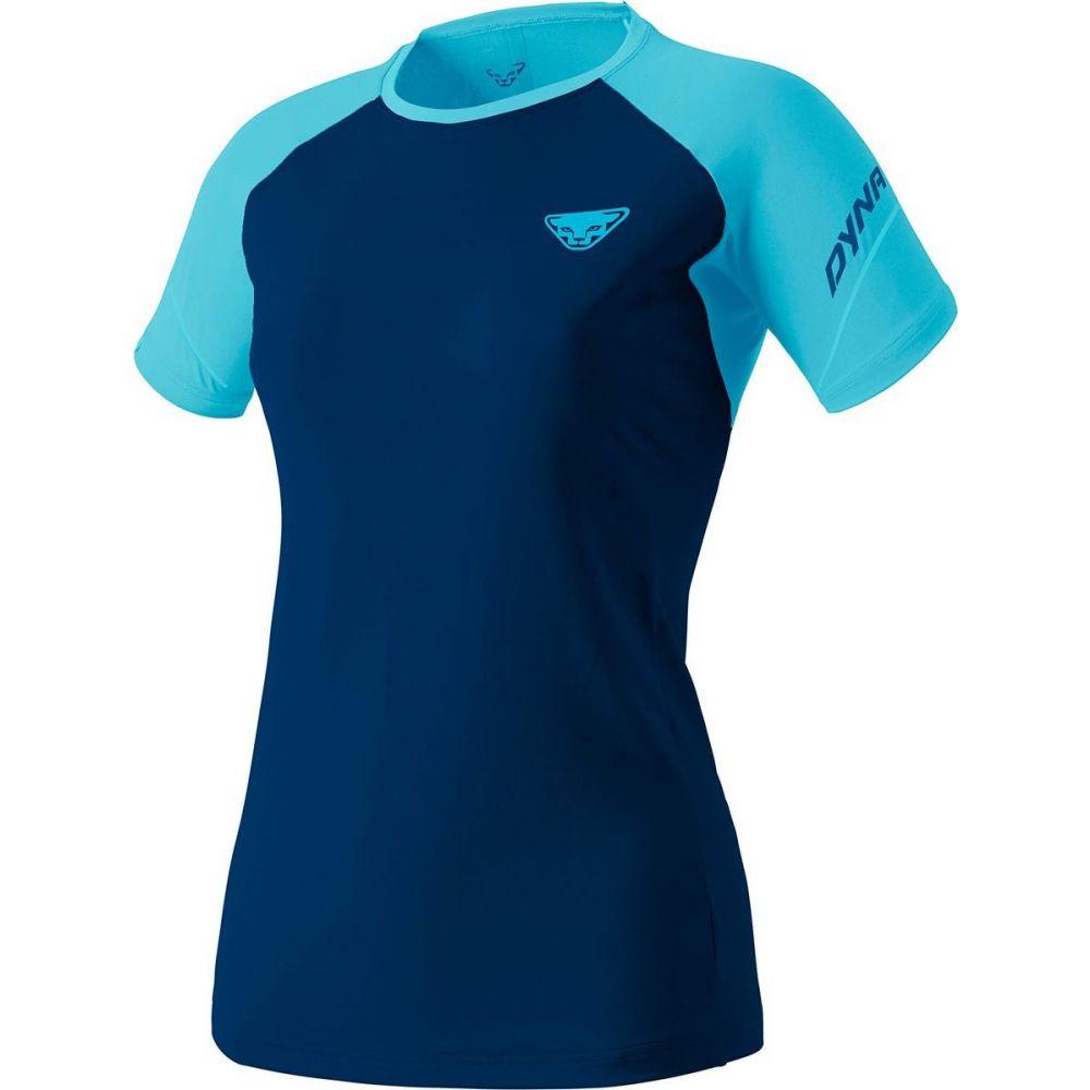 ダイナフィット Dynafit レディース Tシャツ トップス【Alpine Pro Short - Sleeve T - Shirt】Silvretta