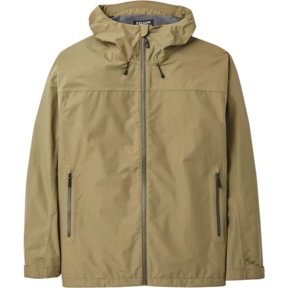 フィルソン Filson メンズ レインコート アウター【Swiftwater Rainshell Jacket】Field Olive