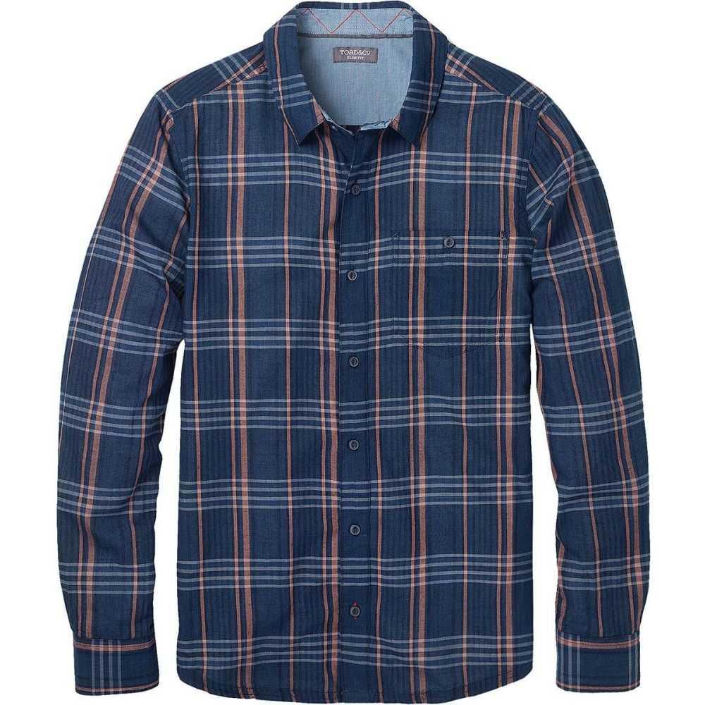 トードアンドコー Toad&Co メンズ シャツ トップス【Beckmen Long - Sleeve Slim Shirt】Dark Indigo